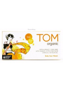 TOM ORGANIC Panty Liners Ultra Thin Liners for Everyday