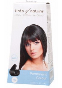 TINTS OF NATURE Permanent Hair Colour (Natural Black - 1N)