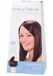 TINTS OF NATURE Permanent Hair Colour (Natural Dark Brown - 3N)