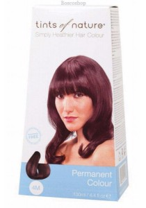 TINTS OF NATURE Permanent Hair Colour (Medium Mahogany Brown - 4M)
