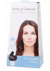TINTS OF NATURE Permanent Hair Colour (Natural Light Brown - 5N)