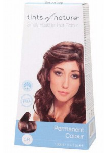 TINTS OF NATURE Permanent Hair Colour (Rich Copper Brown - 5R)