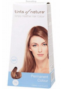 TINTS OF NATURE Permanent Hair Colour (Natural Medium Blonde - 7N)