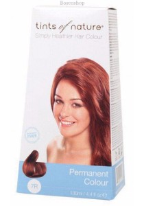 TINTS OF NATURE Permanent Hair Colour (Soft Copper Blonde - 7R)