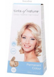 TINTS OF NATURE Permanent Hair Colour (Natural Platinum Blonde - 10N)