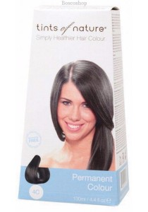 TINTS OF NATURE Permanent Hair Colour (Medium Ash Brown - 4C)