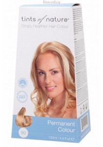 TINTS OF NATURE Permanent Hair Colour (Very Light Golden Blonde - 9D)