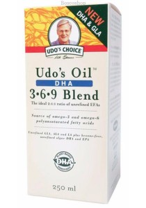 UDOS CHOICE DHA Oil Blend Suitable for Vegetarians (250ml)