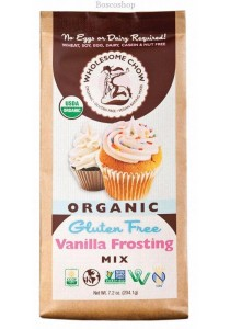 WHOLESOME CHOW Vanilla Frosting Mix Organic & Gluten Free