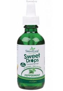 SWEET LEAF Sweet Drops (Liquid Stevia) Peppermint