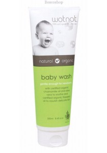 WOTNOT Baby Wash With Organic Sweet Orange Oil
