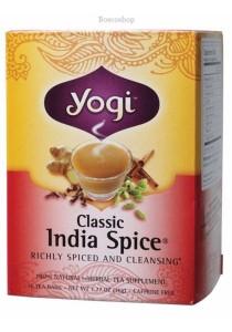 YOGI TEA Herbal Tea Bags (India Spice)