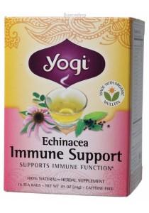 YOGI TEA Herbal Tea Bags (Echinacea Immune Support)