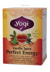 YOGI TEA Herbal Tea Bags (Vanilla Spice Perfect Energy)