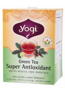 YOGI TEA Herbal Tea Bags (Green Tea Super Antioxidant)