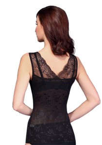 Body Sculpting Lace Shapewear (Black)