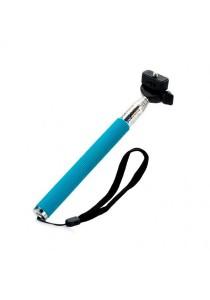 3 Units Monopod Z07 1 Camera Flexible Handheld Blue/Black/Pink