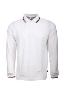 Cotton Polo T Shirt BSH LS 05 (White)
