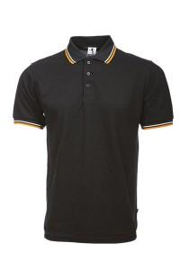 Cotton Polo T Shirt BSH SS 01 (Black)