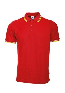Cotton Polo T Shirt BSH SS 03 (Red)