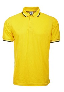 Cotton Polo T Shirt BSH SS 04 (Yellow)