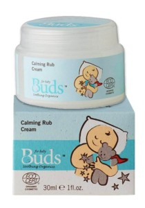 Buds Soothing Organic: Calming Rub Cream 30ml