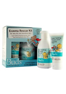 Buds Soothing Organic: Eczema Rescue Kit