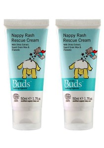 [Best Buy for 2] Buds Soothing Organic: Nappy Time Soothing Cream 50ml