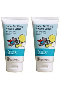 [Best Buy for 2] Buds Soothing Organic: Super Soothing Rescue Lotion 150ml