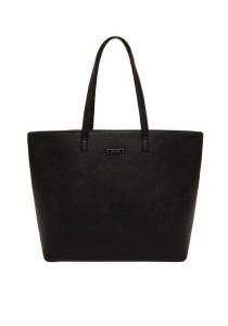 Mango Basic Tote Bag - Black