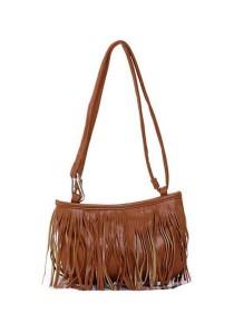 Bolster Store Korean Ladies Women Mini Fringe Sling Bag