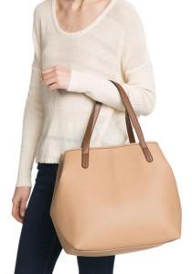Mango Shape Adjustable Shopper Bag