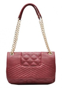 Mango Quilted Chain Sling Bag