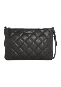 Mango Touch Quilted Sling Bag - Black