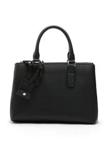 Mango Ms Hwa Zip Tote Bag - Black