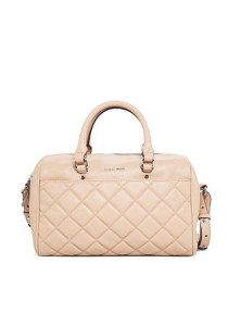 Mango Quilted Bowling Hand Bag