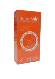 BetterMan Energized Condom 12 pcs