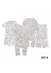 FIFFY Fox Infant Suit Value Bundle (4 in 1) - Set A