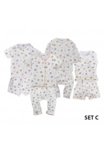 FIFFY Fox Infant Suit Value Bundle (4 in 1) - Set C