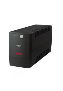 APC Back-UPS 650VA, 230V, AVR, Universal Sockets (BX650LI-MS) (Black)