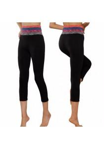 Three Quarter Yoga Sport Pants (Multicolor)