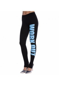 Work Out Fitness Legging (Blue)