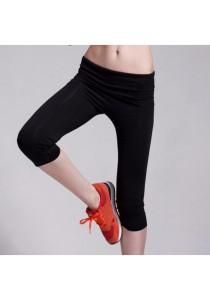 Three Quarter Yoga Sport Pants