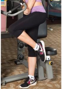 AB Sport Yoga Pants Purple