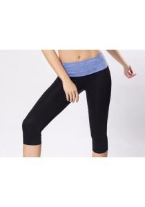 AB Sport Yoga Pants Blue
