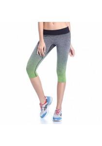 Sport Yoga Gym Quick Dry Yoga Pants Green