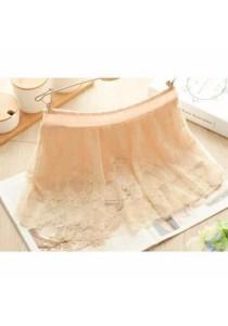 Lace Safety Skirt Pants