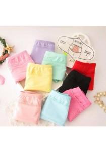 4pcs Anti Leaking Menstrual Pantsies (black, beige, purple, pink)