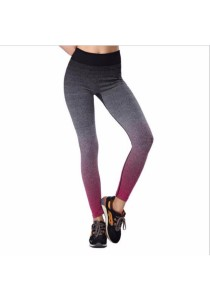 Sport Yoga Gym Quick Dry Yoga Long Pants Pink