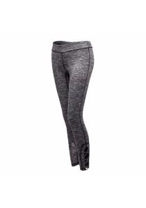 Fashionable Quick Dry Sport Yoga Pants Grey